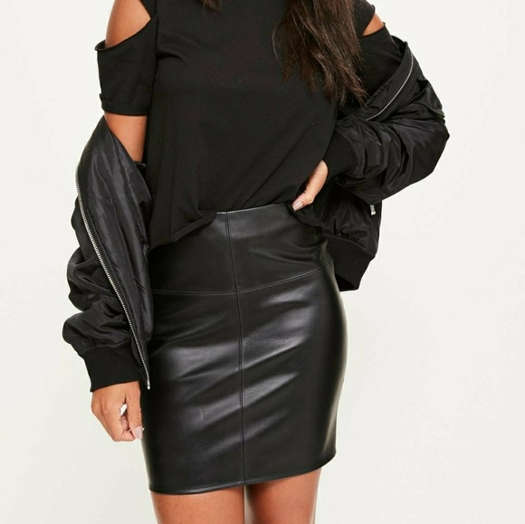 7d9a5da10 Missguided Skirts | Faux Leather Skirt | Poshmark